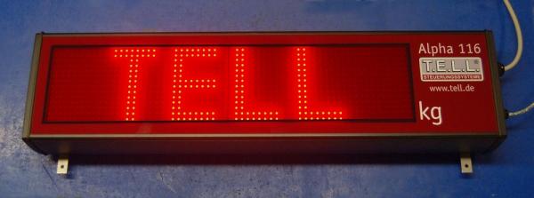 Großanzeige LED alpha 116